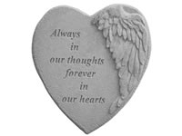 Shop Garden Stone - Always in our thoughts.... - 4 LBS - 9 X 9