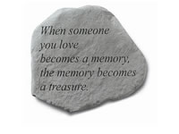 Shop Garden Stone - When someone you love becomes... - 10 LBS - 15.5 X 12.5