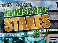 Shop The Planket Landscape Stakes - 14 Count Pack of Planket Stakes